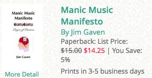 manic music manifesto