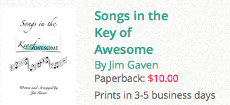 songs in the key of awesome