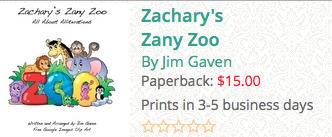 zachary's zany zoo